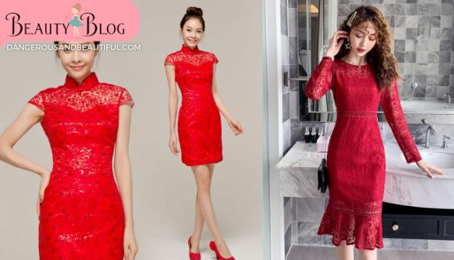 How to ใส่ชุดแดงตรุษจีนอย่างไรให้ปัง ในช่วงวัน เทศกาลตรุษจีน เมื่อพูดถึงเสื้อผ้าที่จะใส่ในช่วงนี้ก็คงหนีไม่พ้นชุดแดงตรุษจีน อย่างชุดกี่เพ้า หรือชุดคอจีน กระดุมจีน ตัดด้วยผ้าแพรจีนในรูแบบและดีไซน์ต่าง ๆ แต่จะใส่ชุดจีนให้สวยปังนั้นไม่ยาก ด้วย How to 5 ข้อง่าย ๆ นี้